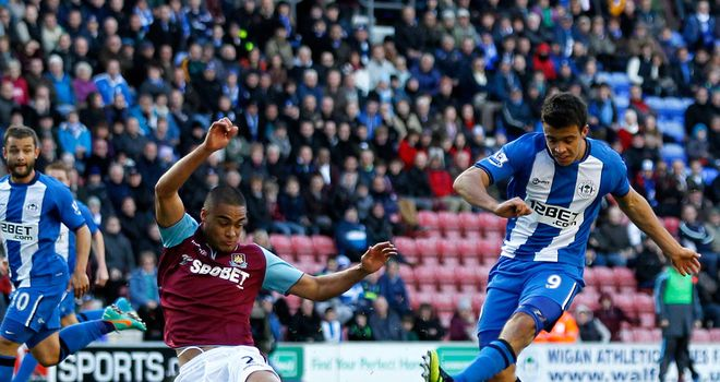 Franco Di Santo: Current Wigan deal expires next summer