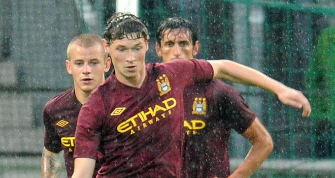 George Evans: On loan from City