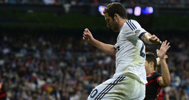 Gonzalo Higuain opened the scoring