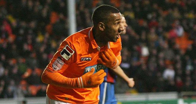 Elliot Grandin: Former Blackpool winger wanted by Crystal Palace