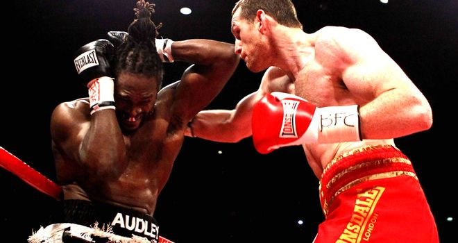 David Price: His brutal power was again in evidence as he crushed Audley Harrison