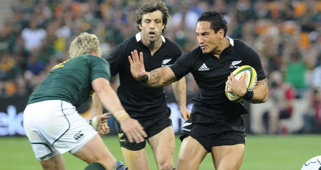 All Blacks: New Zealand swept past South Africa