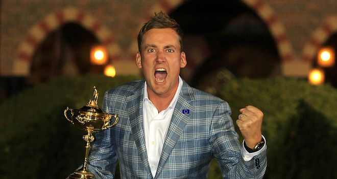 Ian Poulter: won four matches out of four over the weekend