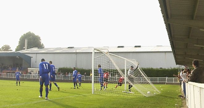 Imber Court: the Met Police's home ground - that hosts an FA Cup first round tie this weekend.