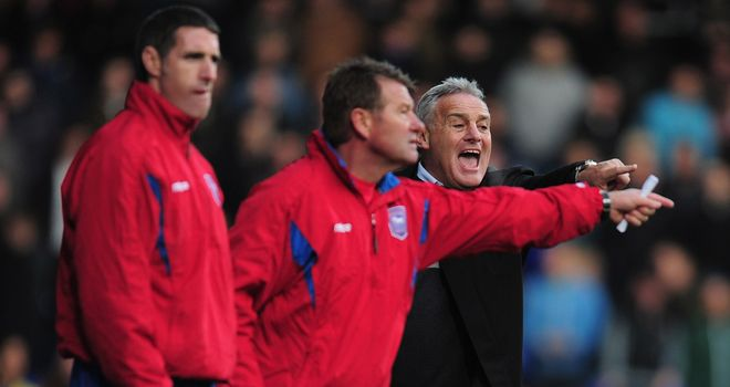 Dave Jones: Unhappy after draw with Huddersfield