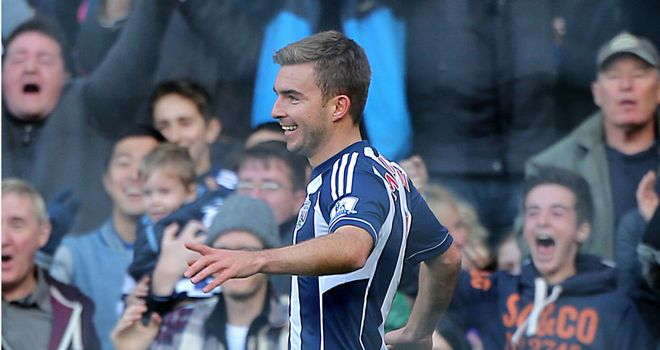 James Morrison: Determined to help West Brom push on during the festive period