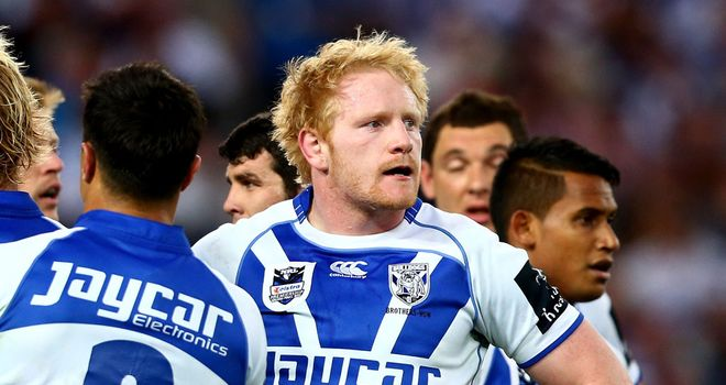 James Graham: Banned for 12 matches after being found guilty of biting Billy Slater's ear