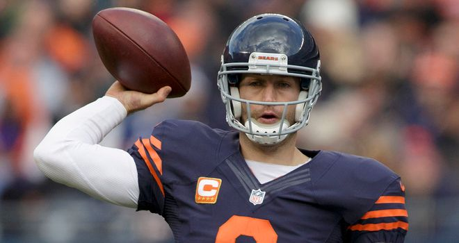 Jay Cutler: overcame a rocky first half to lead the Bears past the Panthers