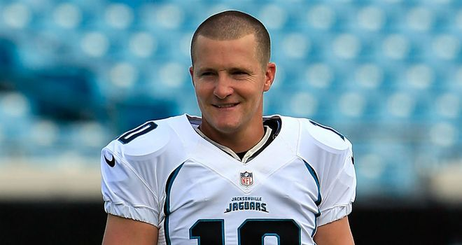 Josh Scobee: Hopes the British fans will see the Jaguars grow into a winning force