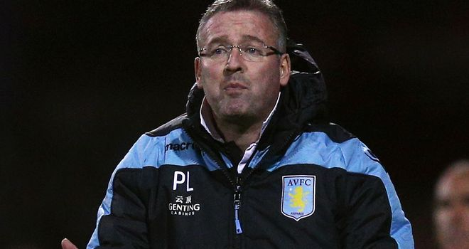 Paul Lambert: We'll make progress