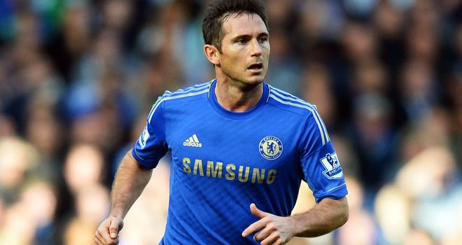 Frank Lampard: Looking forward to goalline technology