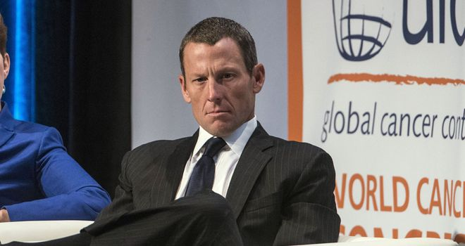 Lance Armstrong: Has admitted using performance-enhancing drugs