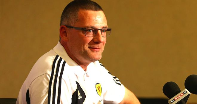 Craig Levein: Looking forward to facing Wales tonight