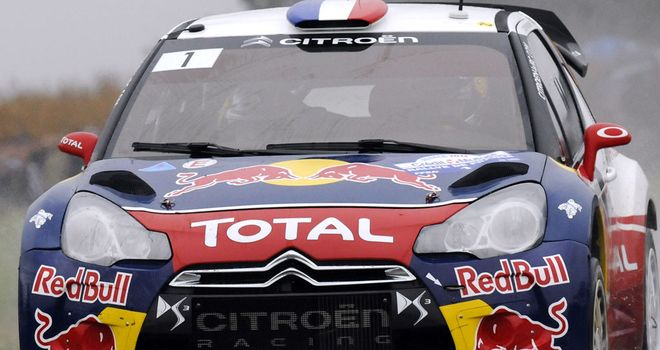 Sebastien Loeb: On top after day one of the Rally Italy