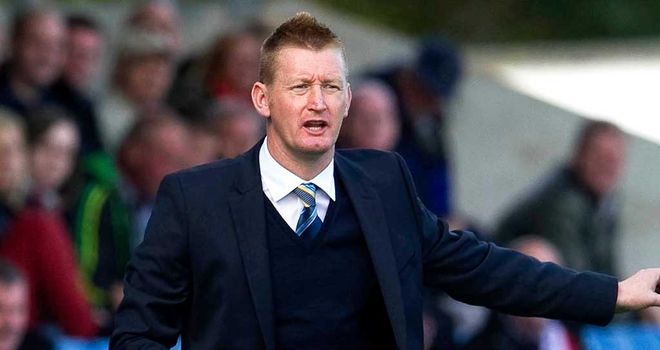 Steve Lomas: St Johnstone boss has been given a suspended two-match ban