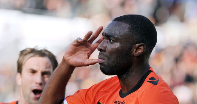 Gilles Sunu: Salvaged a late draw for Lorient
