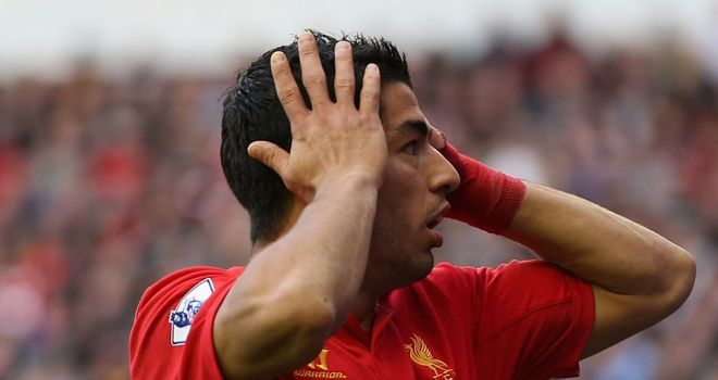 Luis Suarez: Liverpool striker has been accused of going to ground too easily