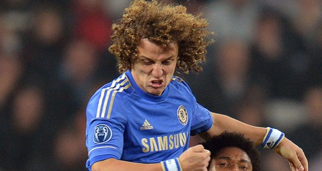David Luiz: Eyeing more responsibility at Chelsea