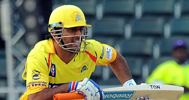 MS Dhoni: Sparkling innings for Chennai in vain