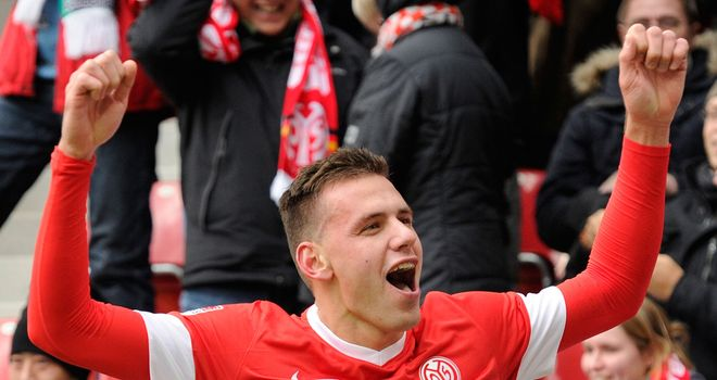 Adam Szalai: Mainz manager Christian Heidel says club would only listen to offers of at least 20 million Euros