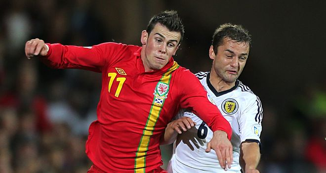 Gareth Bale: Adamant that he did not dive to win a penalty for Wales against Scotland