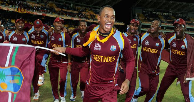 Marlon Samuels: West Indies' match-winner with 78 runs from 56 delieveries