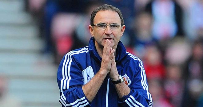 Martin O&#39;Neill: Has seen Sunderland struggle in front of goal this season