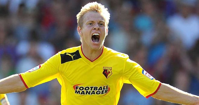 Matej Vydra: On the mark for Watford