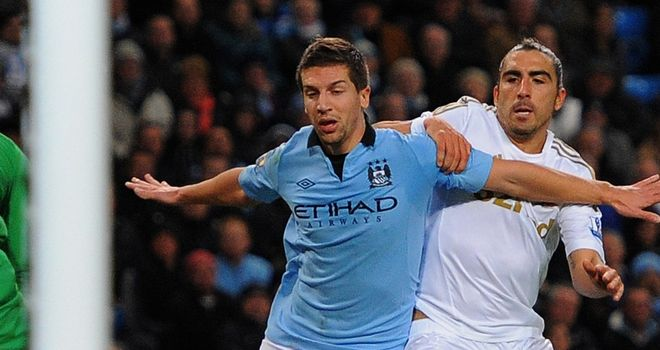 Matija Nastasic: Beginning to feel at home at Manchester City