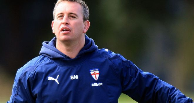 Steve McNamara: Believes the 10-day training camp has put his England squad in good stead