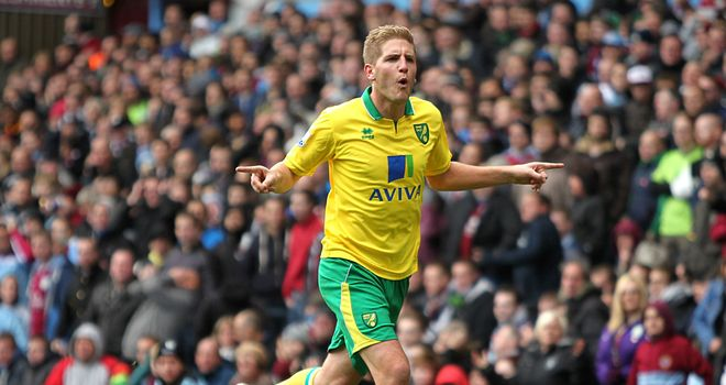Michael Turner: Believes that Carrow Road gives his team-mates confidence to succeed