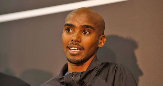 Mo Farah: Set to run in Birmingham