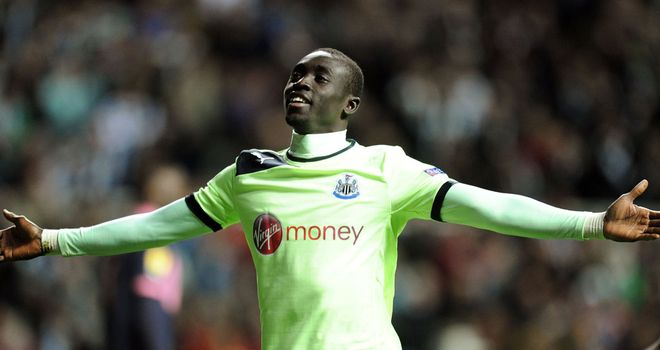 Papiss Cisse: Newcastle striker's confidence isn't an issue