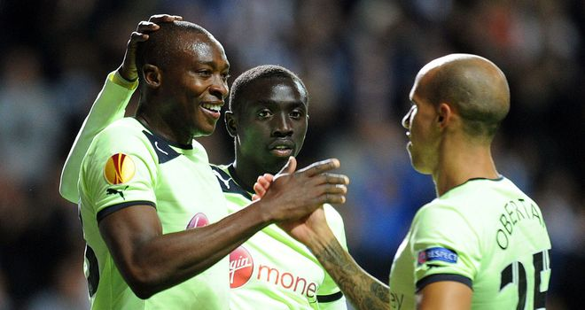 Shola Ameobi: Newcastle striker could have earned a starting spot against Manchester United