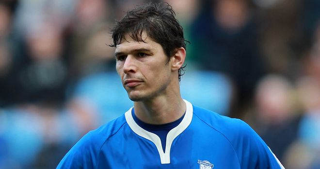 Nikola Zigic: Birmingham City striker has turned down an offer from Villarreal