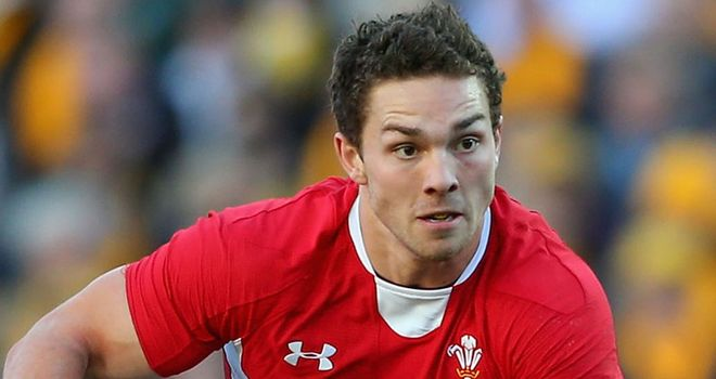 George North: returns on the wing for the Scarlets this weekend