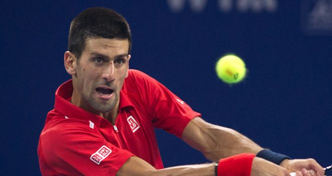 Novak Djokovic: Was taken to three sets but came through test against Michael Berrer