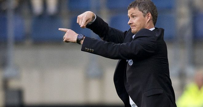 Ole Gunnar Solskjaer: Molde coach saw his team draw 1-1