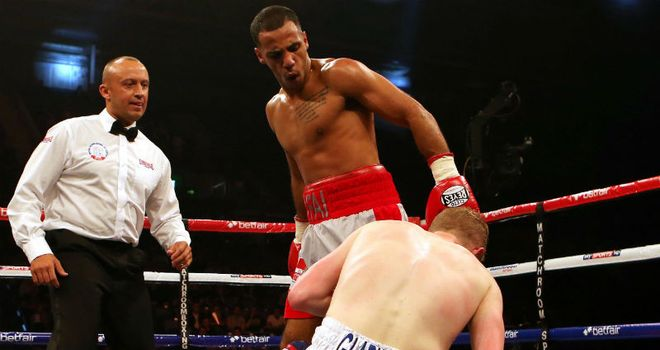 Kal Yafai had Gladwin down three times in the first round in Sheffield