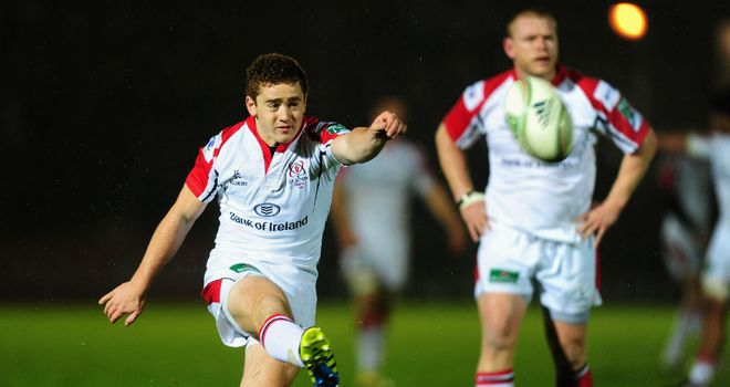 Paddy Jackson: Named at fly-half in Ireland team