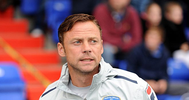 Dickov: Wants Latics to go for it