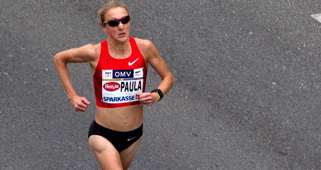 Paula Radcliffe: Left off funding list