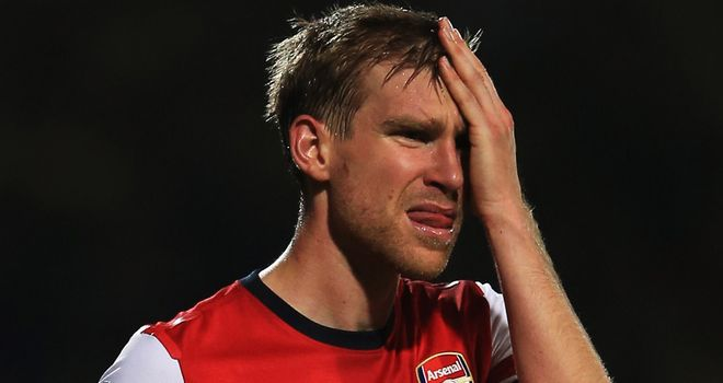 Per Mertesacker: Has seen Arsenal suffer setbacks at home and abroad