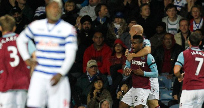 Ricardo Vaz Te's goal sealed victory for West Ham against QPR