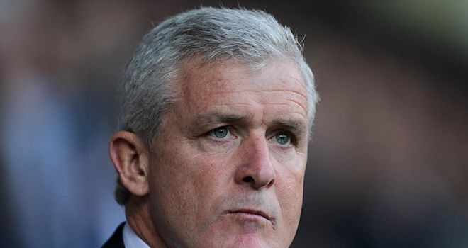 Mark Hughes: Needs a win at home to Everton on Sunday