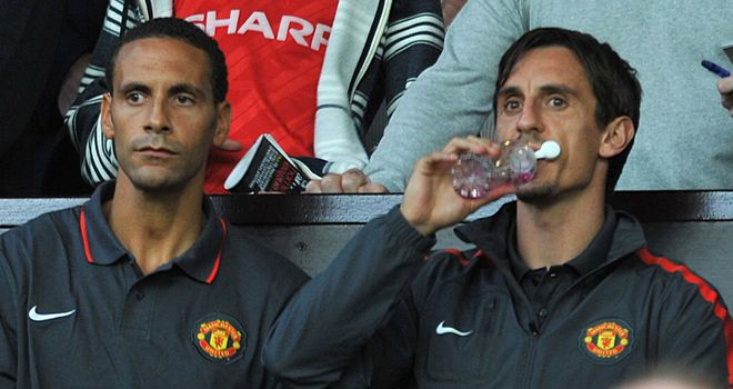 Rio Ferdinand is unlikely to win recall, according to Gary Neville