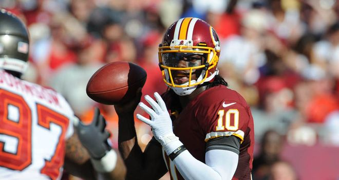 Robert Griffin III: Led the Redskins down the field with the game on the line