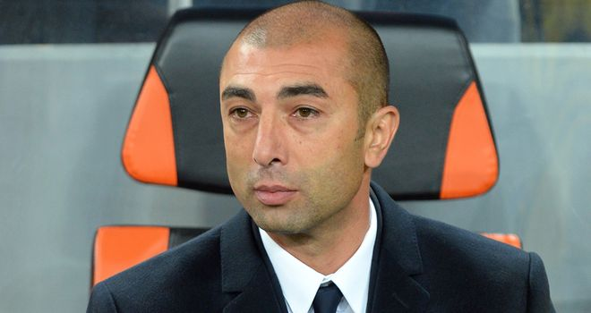 Roberto Di Matteo: All eyes on the Chelsea boss on Tuesday evening