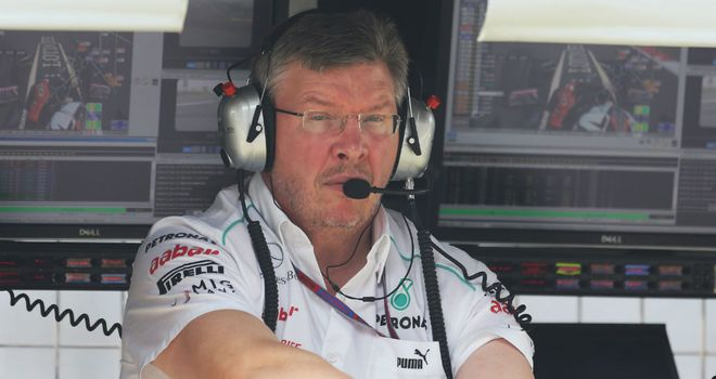 Ross Brawn: Team Principal at Mercedes