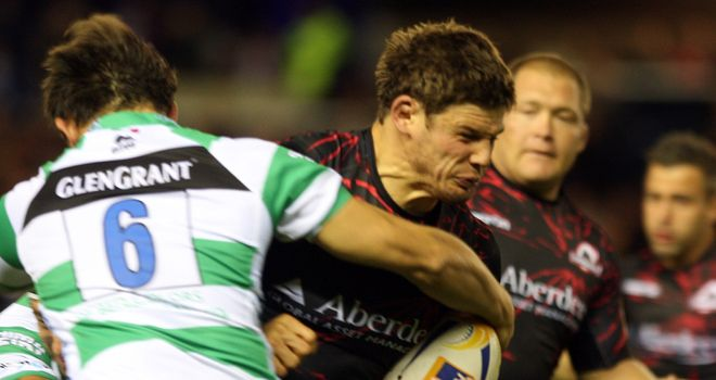Ross Ford: Was contained by the Treviso defence